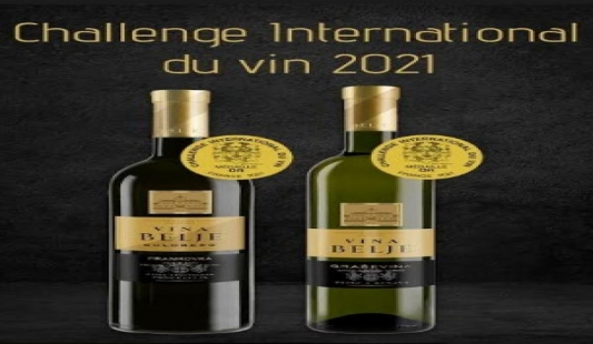 Vina Belje novi izgled i nagrade u Francuskoj